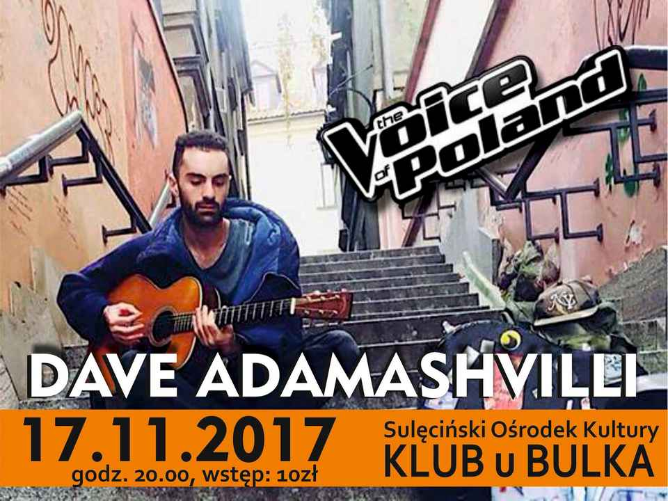 Dave Adamashville koncert Sulęcin Klub u Bulka