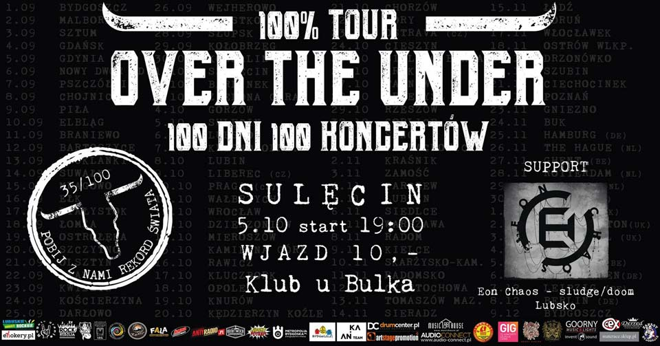 Over the Under Sulęcin koncert