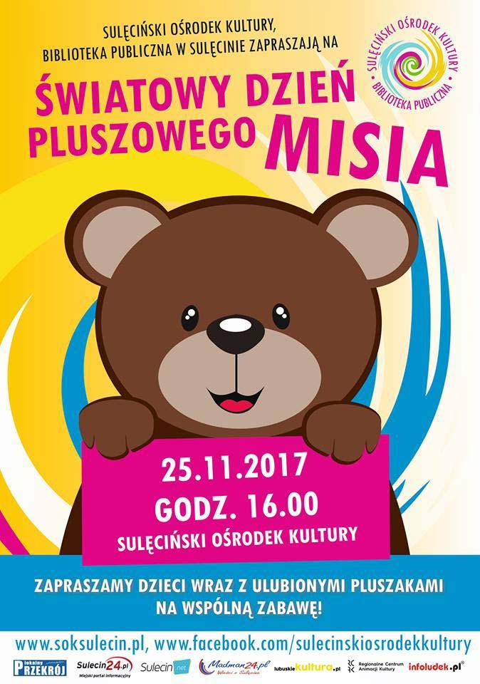 Światowy Dzień Pluszowego Misia Sulęcin 2017