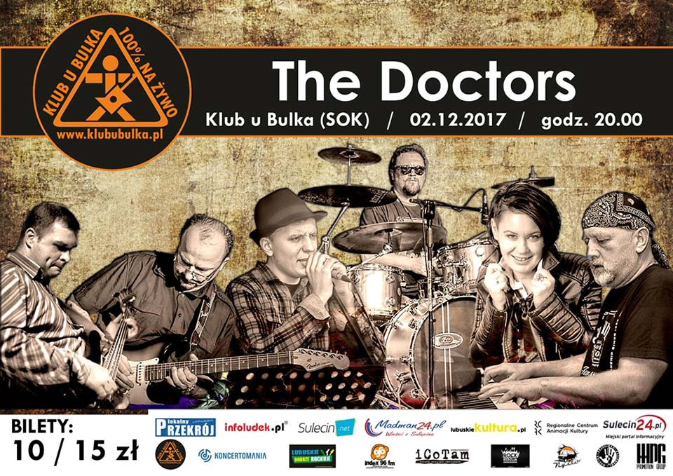 Koncert The Doctors Sulęcin Klub u Bulka